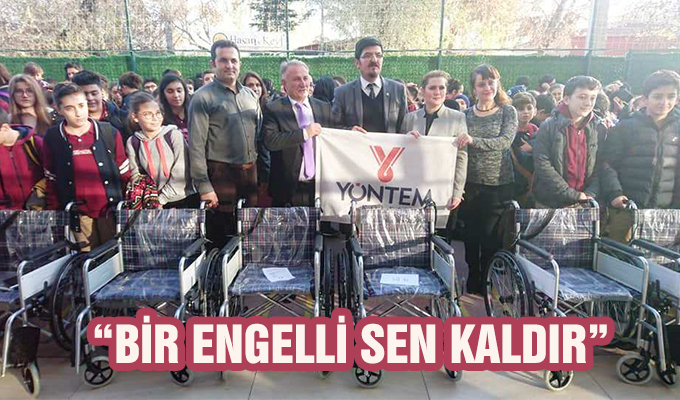 """Konya Haber: """"Bir Engelli Sen kaldır"""