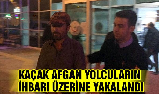 Konya Haber: Konya'da kaçak Afgan yolcuların ihbarı üzerine yakalandı
