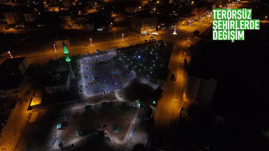 İdil'in çehresi belediyenin çalışmalarıyla yenileniyor