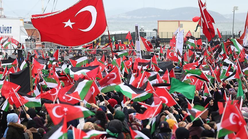 'Kudüs İslam'ındır' mitingi başladı