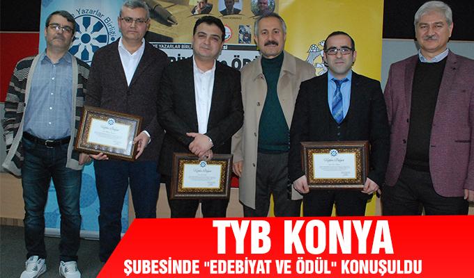 Konya Haber: TYB Konya Şubesinde