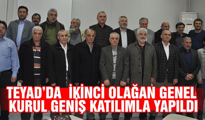 Konya Haber: TEYAD'da  İkİncİ Olağan Genel  Kurul genİş katılımla yapıldı