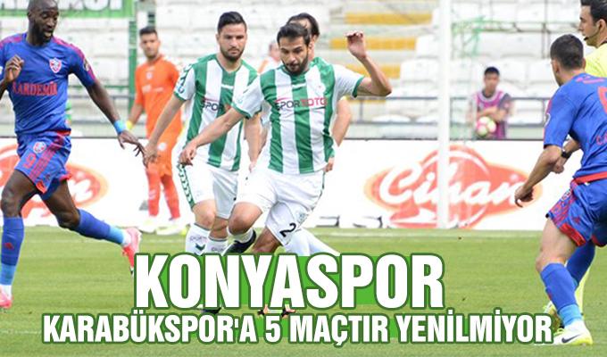Konyaspor, Karabükspor'a 5 maçtır yenilmiyor