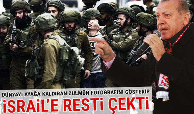 Cumhurbaşkanı Erdoğan'ı kızdıran fotoğraf