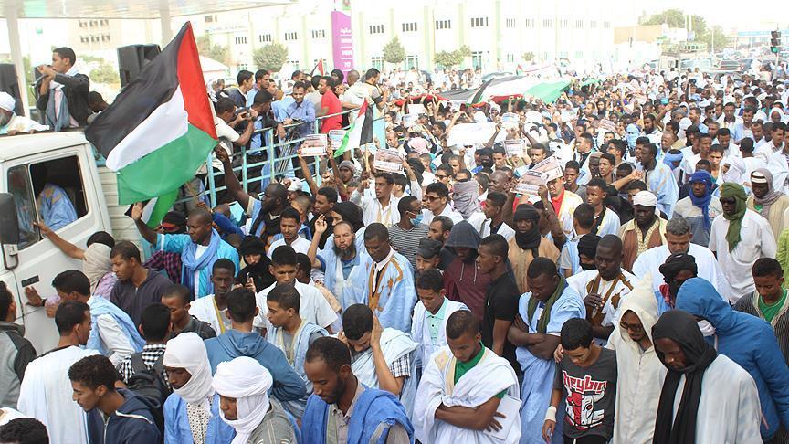 Moritanya'dan, ABD'ye 'ticari boykot' çağrısı