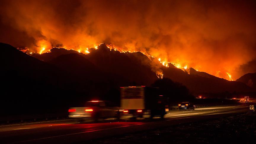 California'daki orman yangını kontrol edilemiyor