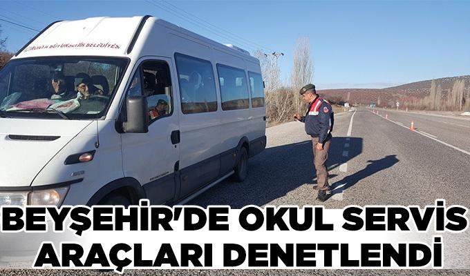 Konya Haber: Konya Beyşehir'de okul servis araçları denetlendi