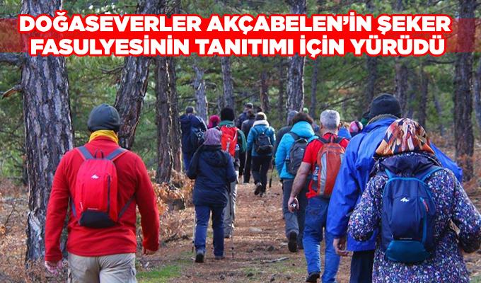 Konya Haber: Doğaseverler Akçabelen'in Şeker Fasulyesinin tanıtımı için yürüdü