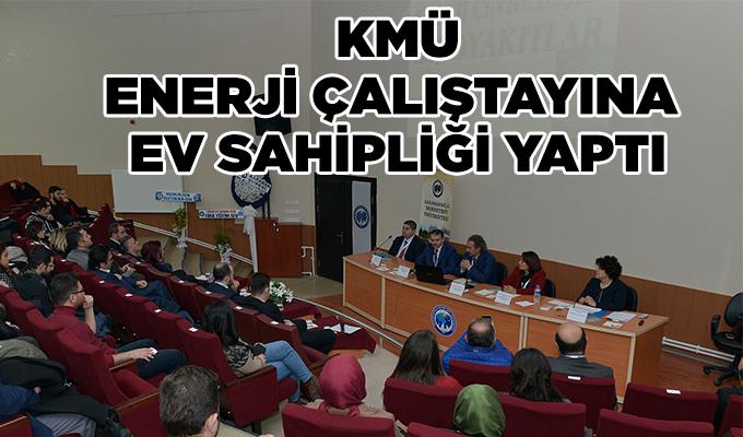 Karaman'da KMÜ, enerji çalıştayına ev sahipliği yaptı
