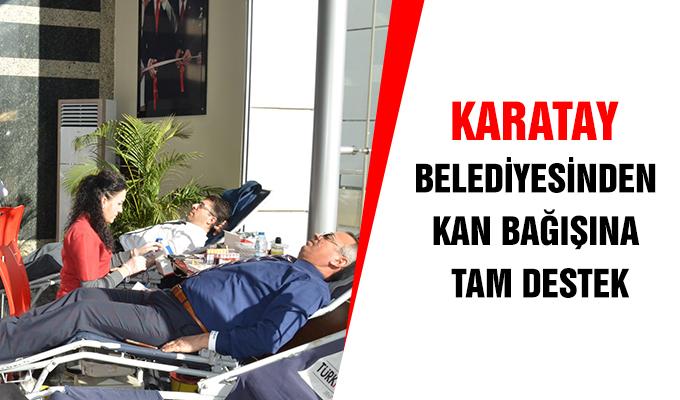 Konya Haber: Konya Karatay Belediyesin'den Kan Bağışına Tam Destek