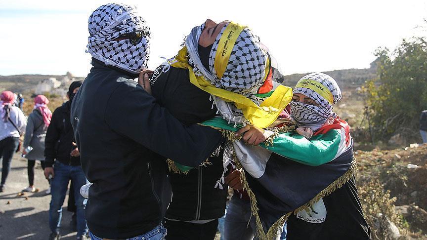 Batı Şeria ve Gazze'deki gösterilerde 30 Filistinli yaralandı