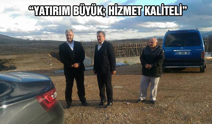 """Konya Haber: """"Yatırım Büyük; Hizmet Kaliteli"""""""