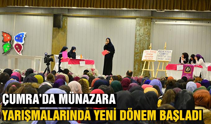 Konya Haber: Çumra'da Münazara Yarışmalarında Yeni Dönem Başladı
