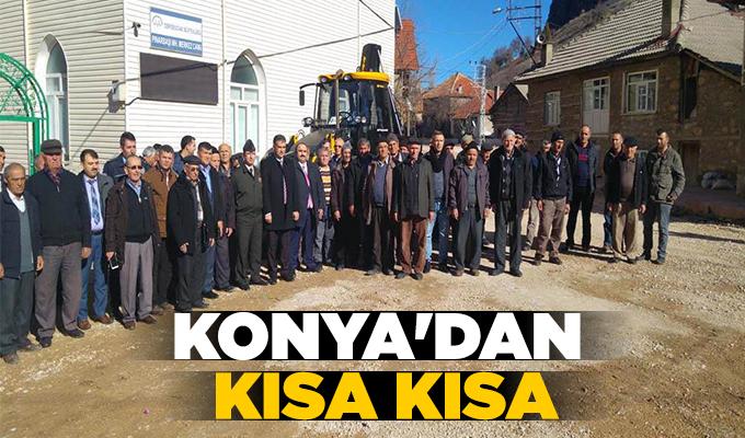 Konya Haber: Konya'dan kısa kısa