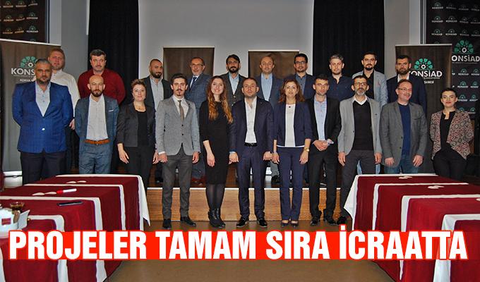 Konya Haber: Projeler tamam sıra icraatta