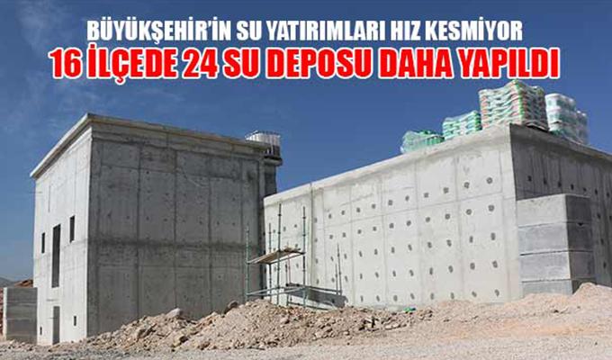 Konya Haber: Büyükşehir'in Su Yatırımları Hız Kesmiyor