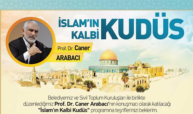 Konya Haber: Konya Ereğli Belediyesi, STK'lar ile birlikte Kudüs programı düzenliyor