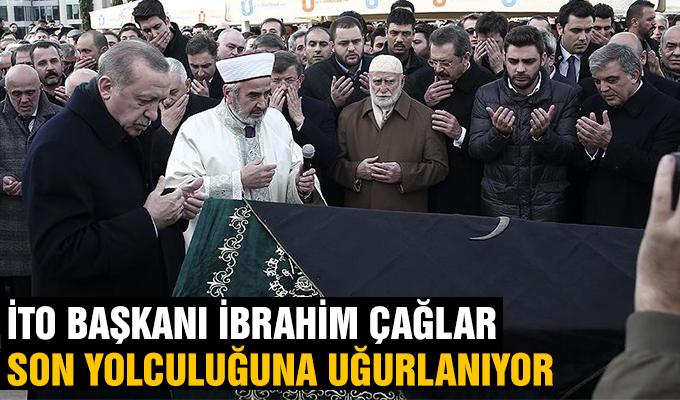 Konya Haber: İTO'nun Konyalı başkanı İbrahim Çağlar son yolculuğuna uğurlandı