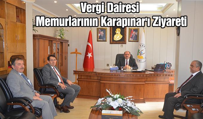 Konya Haber: Vergi Dairesi memurlarının Karapınar'ı ziyareti