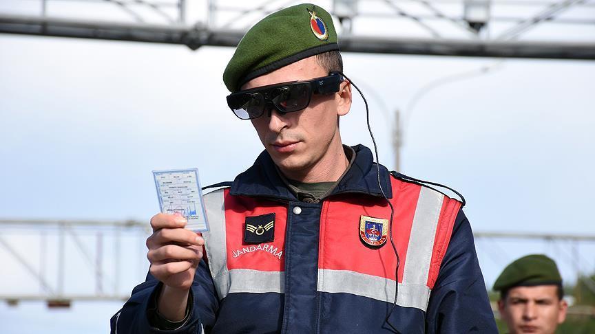 Jandarmanın yeni gözü 'takbul'