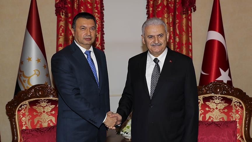 Başbakan Yıldırım Rasulzoda ile görüştü