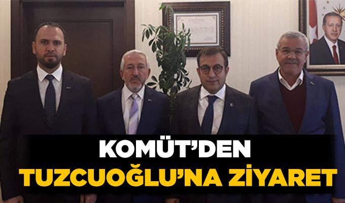 KOMÜT'den Tuzcuoğlu'na ziyaret