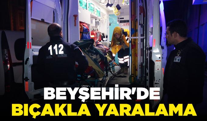 Konya Haber: Konya Beyşehir'de bıçakla yaralama