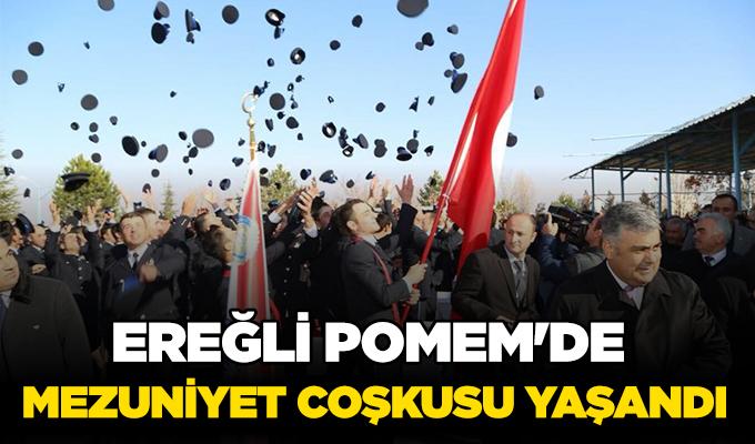 Konya Haber: Ereğli POMEM'de mezuniyet coşkusu yaşandı