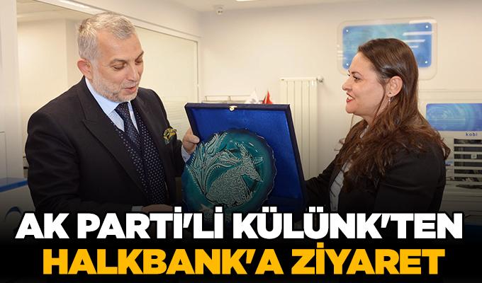 Konya Haber: AK Parti'li Külünk'ten Halkbank'a ziyaret