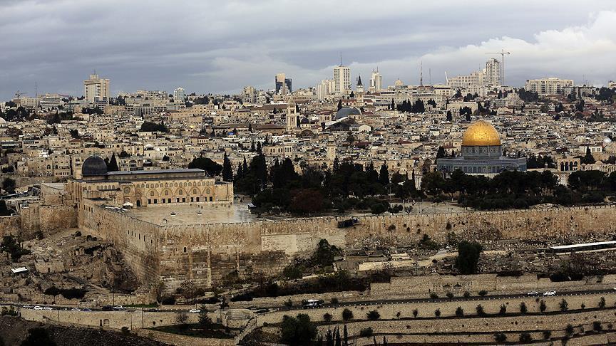'Kudüs Filistin'in başkenti ve tüm Müslümanların kutsalıdır'