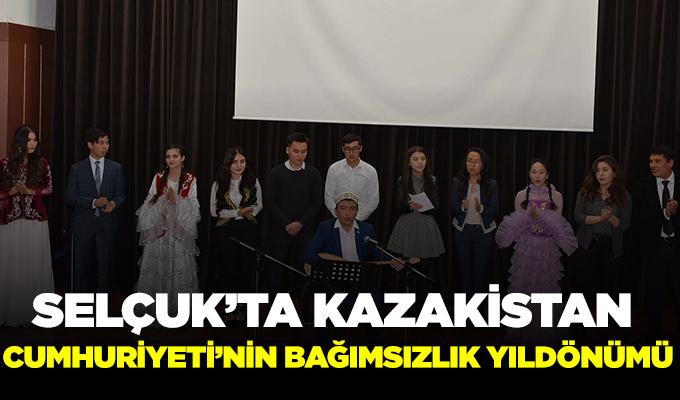 Selçuk'ta Kazakistan Cumhuriyeti'nin Bağımsızlık Yıl dönümü