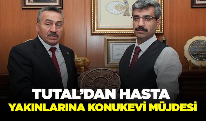 Konya Haber: Tutal'dan hasta yakınlarına konukevi müjdesi…