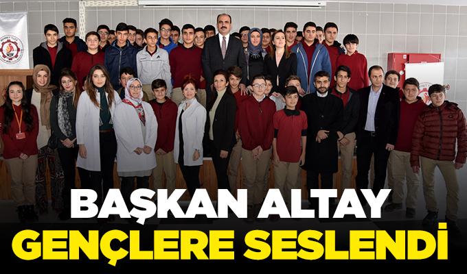 Konya Haber: Başkan Altay gençlere seslendi