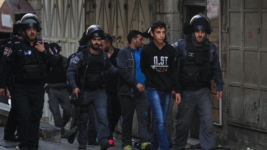 Filistinli çocuklar 'gözaltı ve suistimallere' maruz kalıyor
