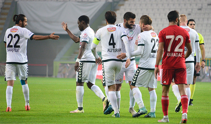 Konyaspor'da gözler Göztepe maçında