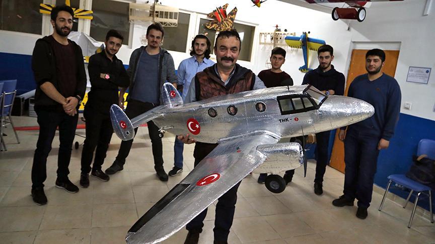 Türkiye'nin ihraç ettiği ilk uçağın prototipi yapıldı