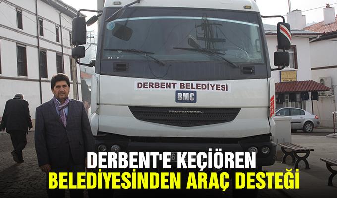 Konya Haber: Derbent'e Keçiören Belediyesinden araç desteği