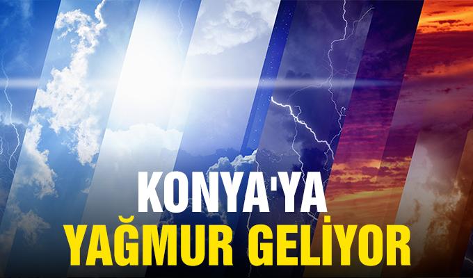 Konya Haber: Konya'ya Yağmur Geliyor...