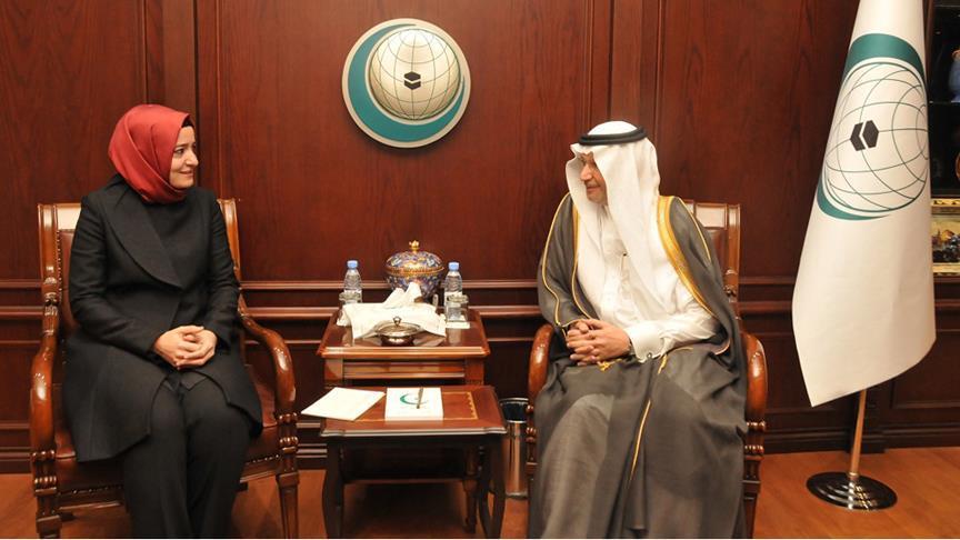 Bakan Kaya İİT Genel Sekreteri ile bir araya geldi