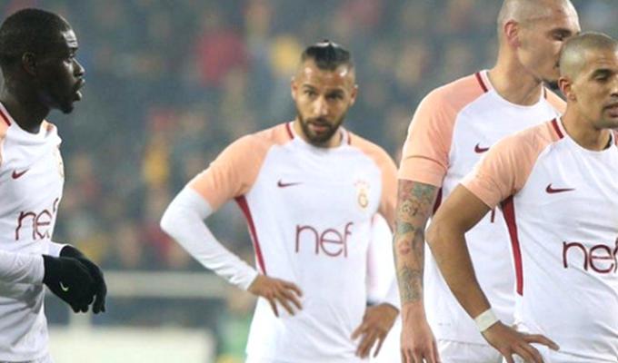 Galatasaray, Evkur Yeni Malatyaspor'a 2-1 Yenildi