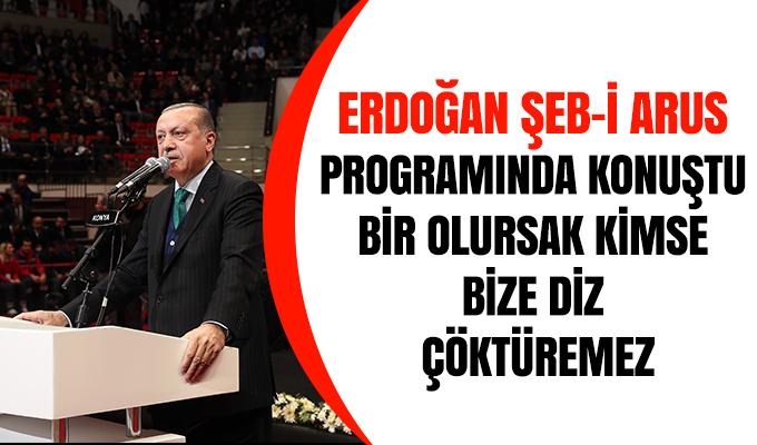 Konya Haber: Erdoğan Şeb-i Arus programında konuştu
