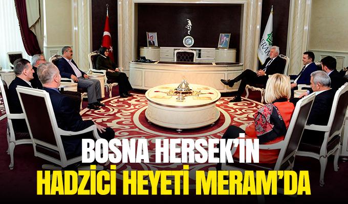 Konya Haber: Bosna Hersek'in Hadzici heyeti Meram'da
