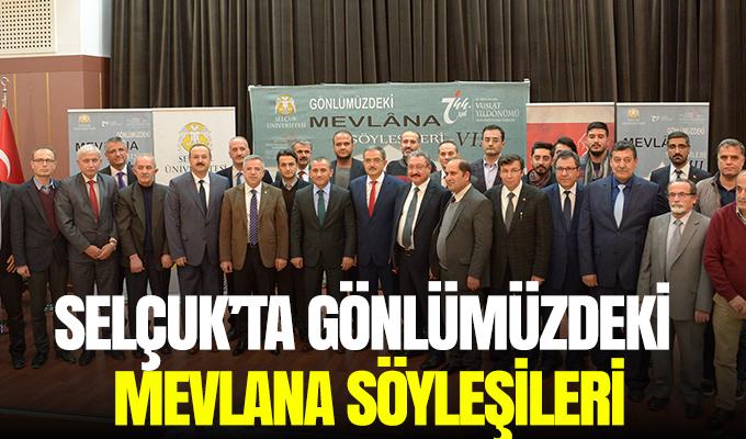 Konya Haber: Selçuk'ta Gönlümüzdeki Mevlana Söyleşileri