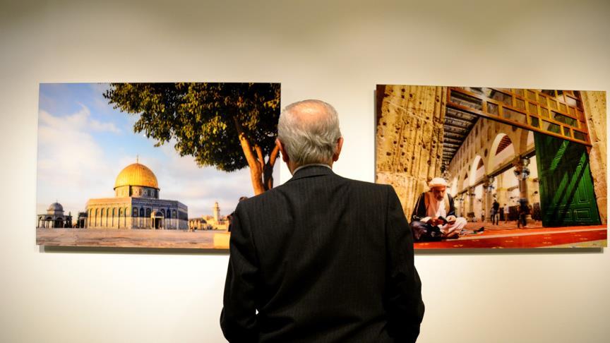 'Kudüs: Ey Hüzünler Şehri' sergisi açıldı