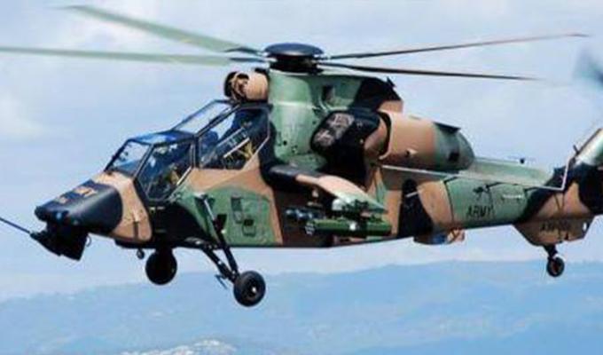 Darbeciler helikopterlere 3 bin mermi yüklemiş