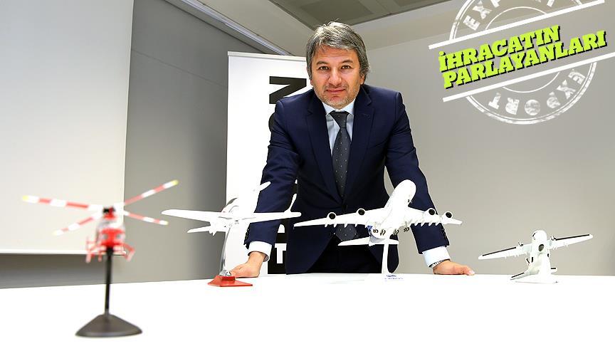Maket uçakla başladı, Airbus'a 'kuyruk' ihraç ediyor