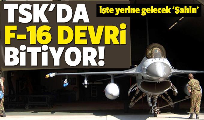 TSK F-16 Devri Bitiyor
