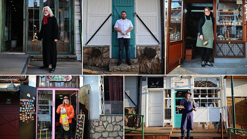 Tarihi sokağın 'fantastik beşlisi'
