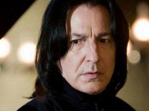 Harry Potter'ın Proffesor Snape'i hayatını kaybetti