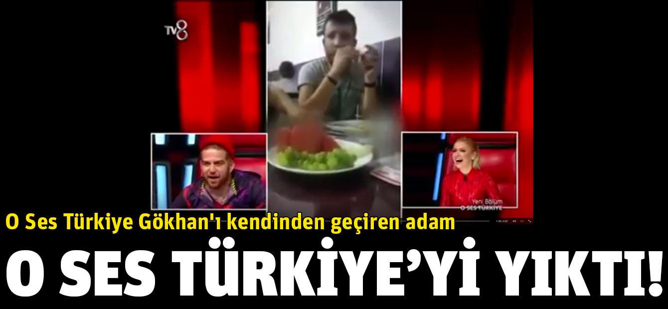 O Ses Türkiye Gökhan'ı kendinden geçiren adam